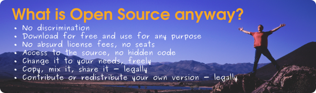 Your Source for Open Source
